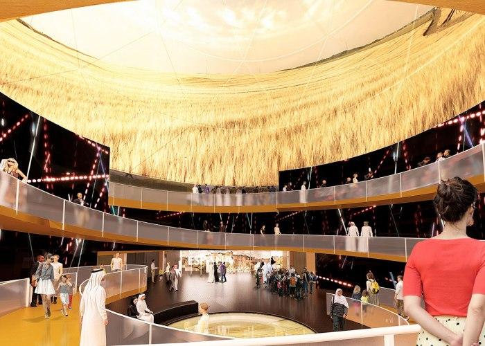 Spanish Pavilion at the Expo Dubai 2020 by Amann-Canovas-Maruri
