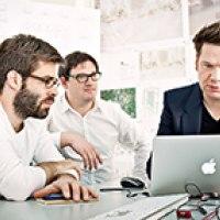 Tilo Herlach, Simon Hartmann and Simon Frommenwiler