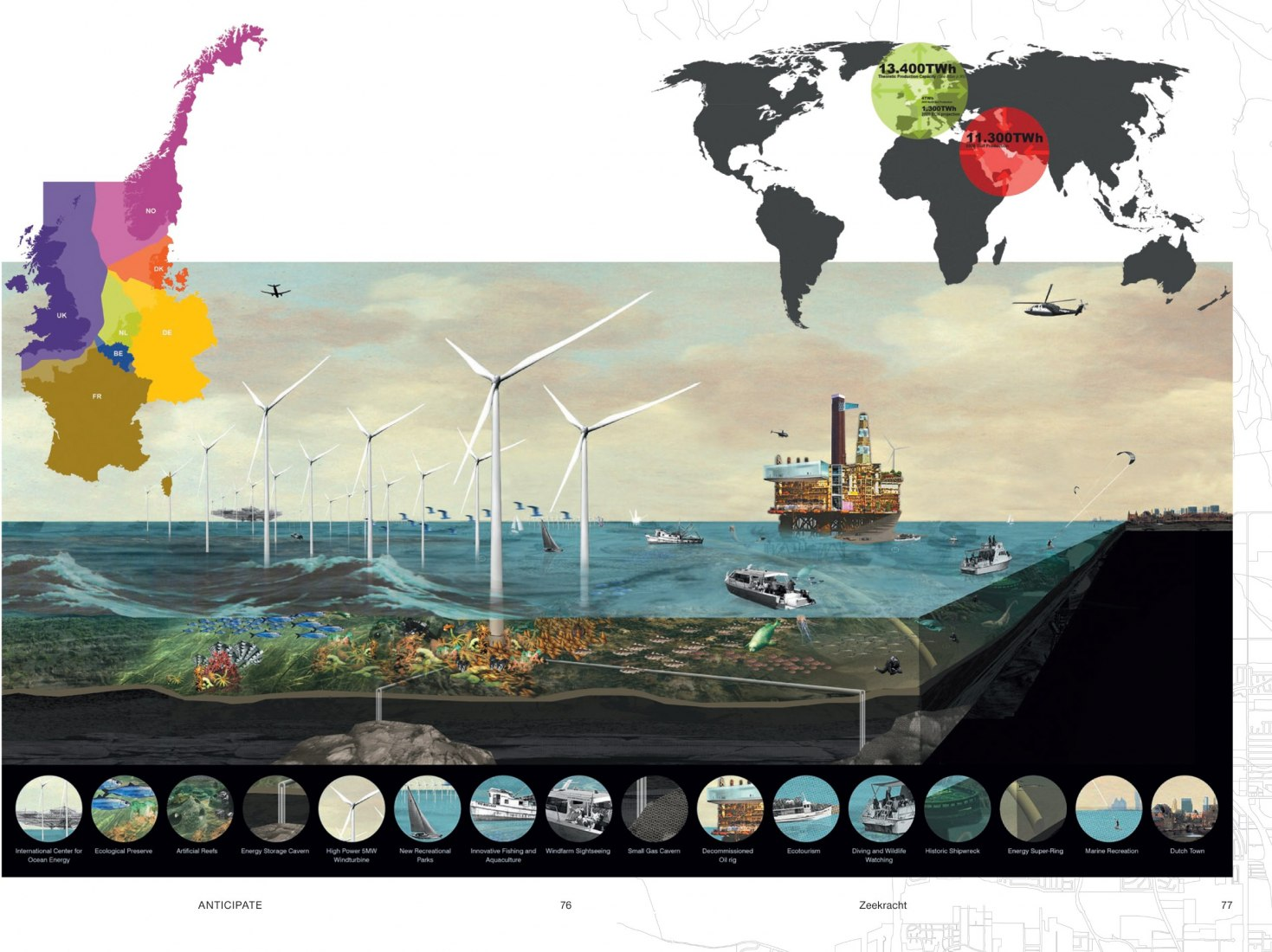 WWF and AMO, a world 100% reliant on renewable energy by 2050