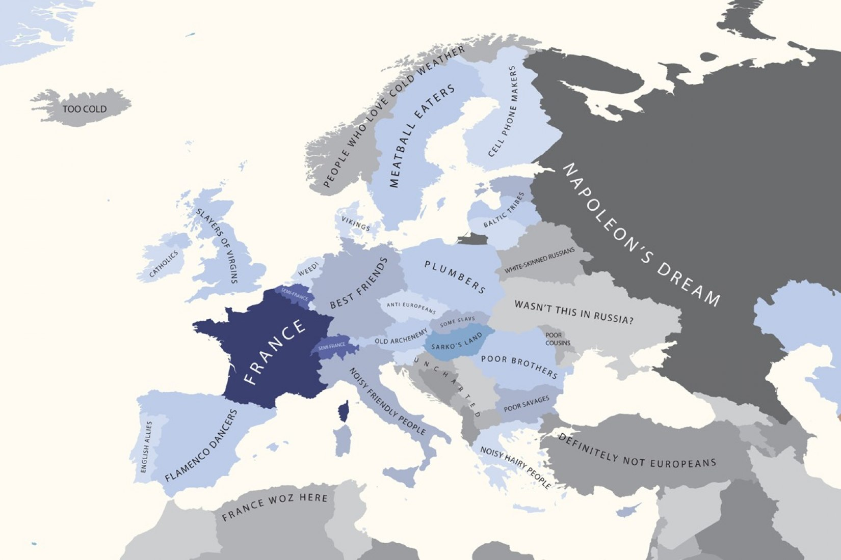 Europe According to France.