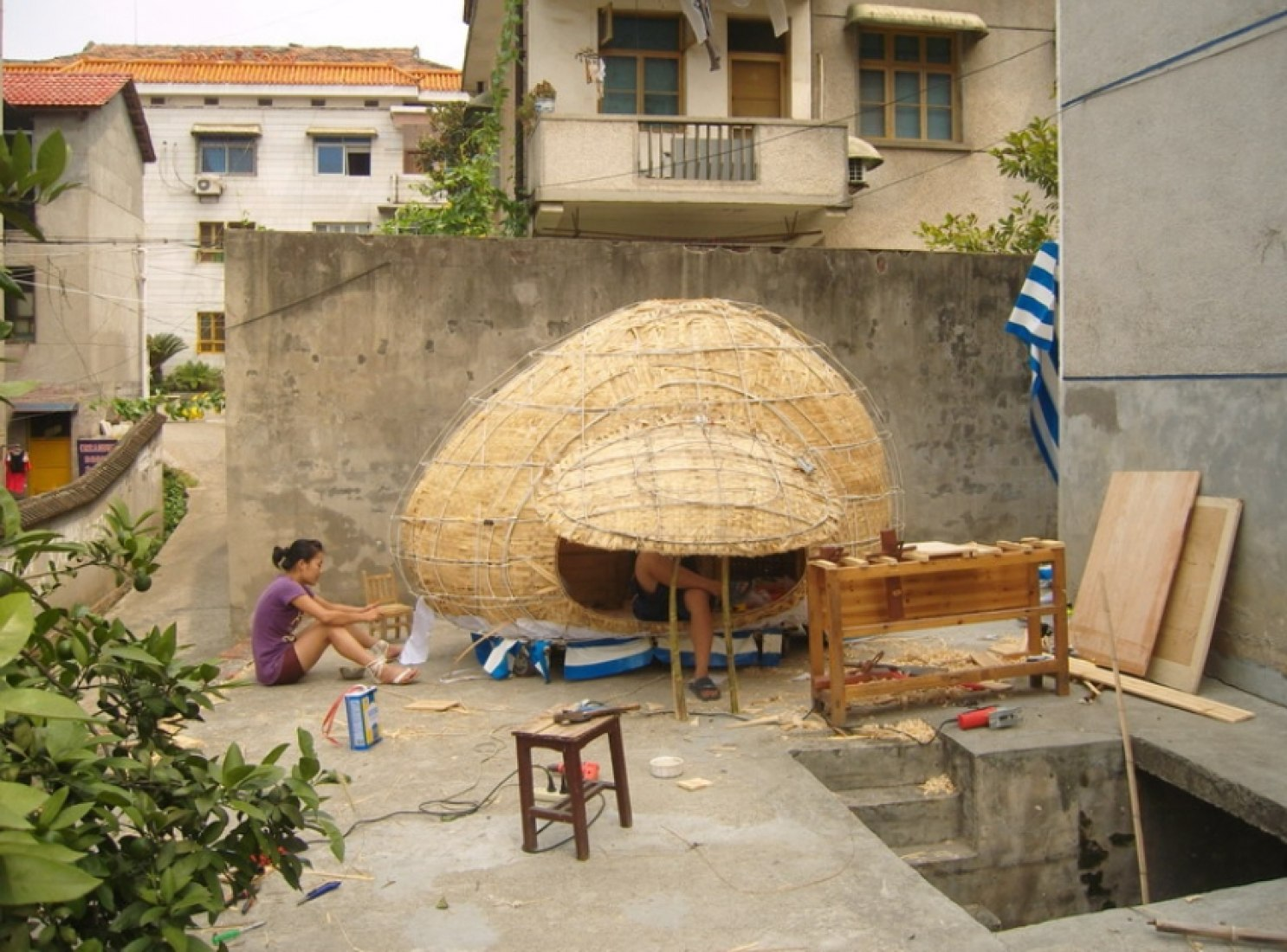 Process building, 2. house by Dai Haifei