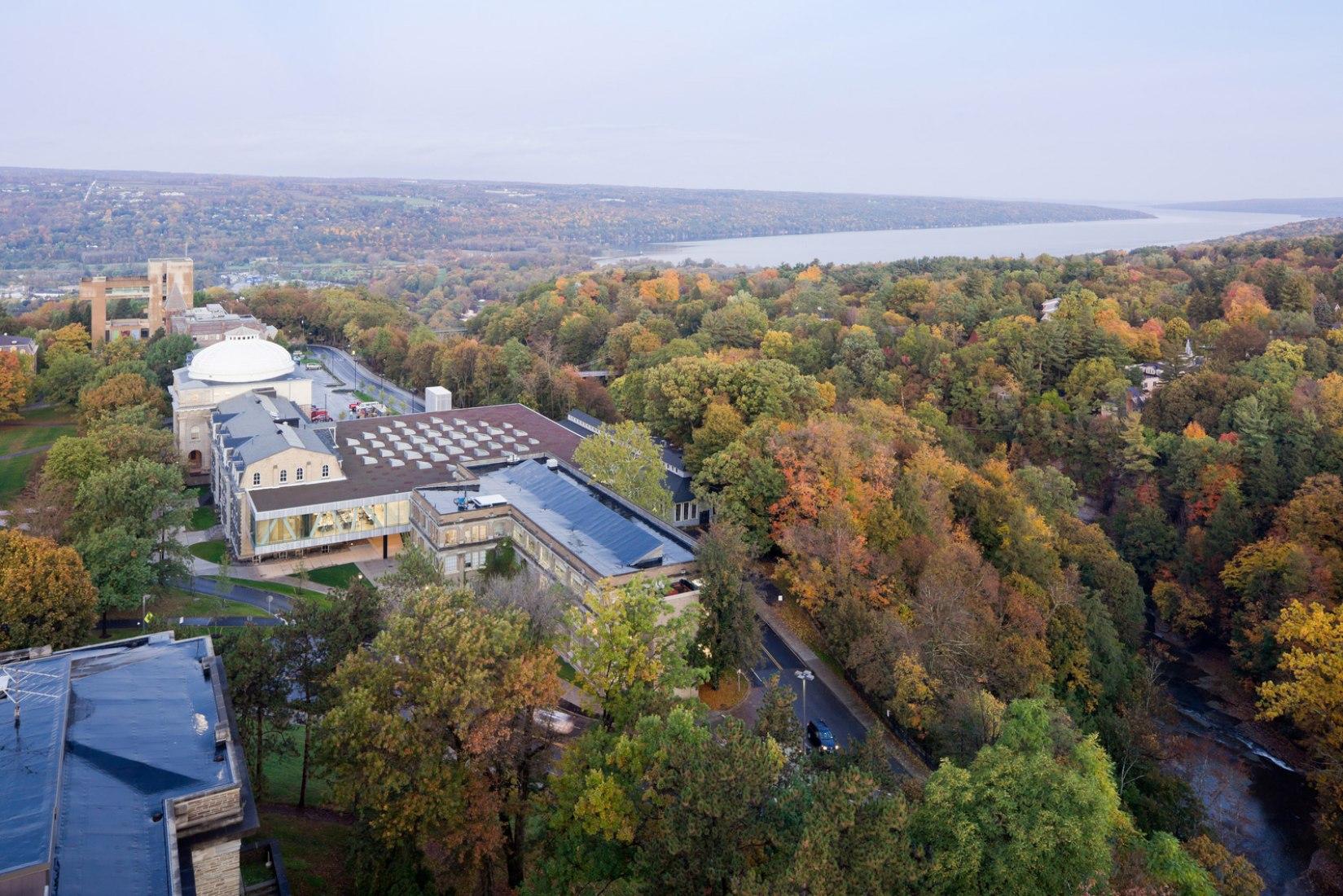 Rem Koolhaas en Cornell University