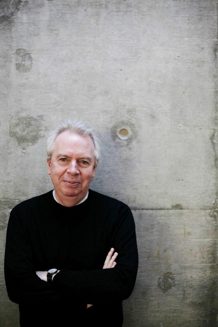 Portrait of David Chipperfield. Photograph @ Martin Goodwin