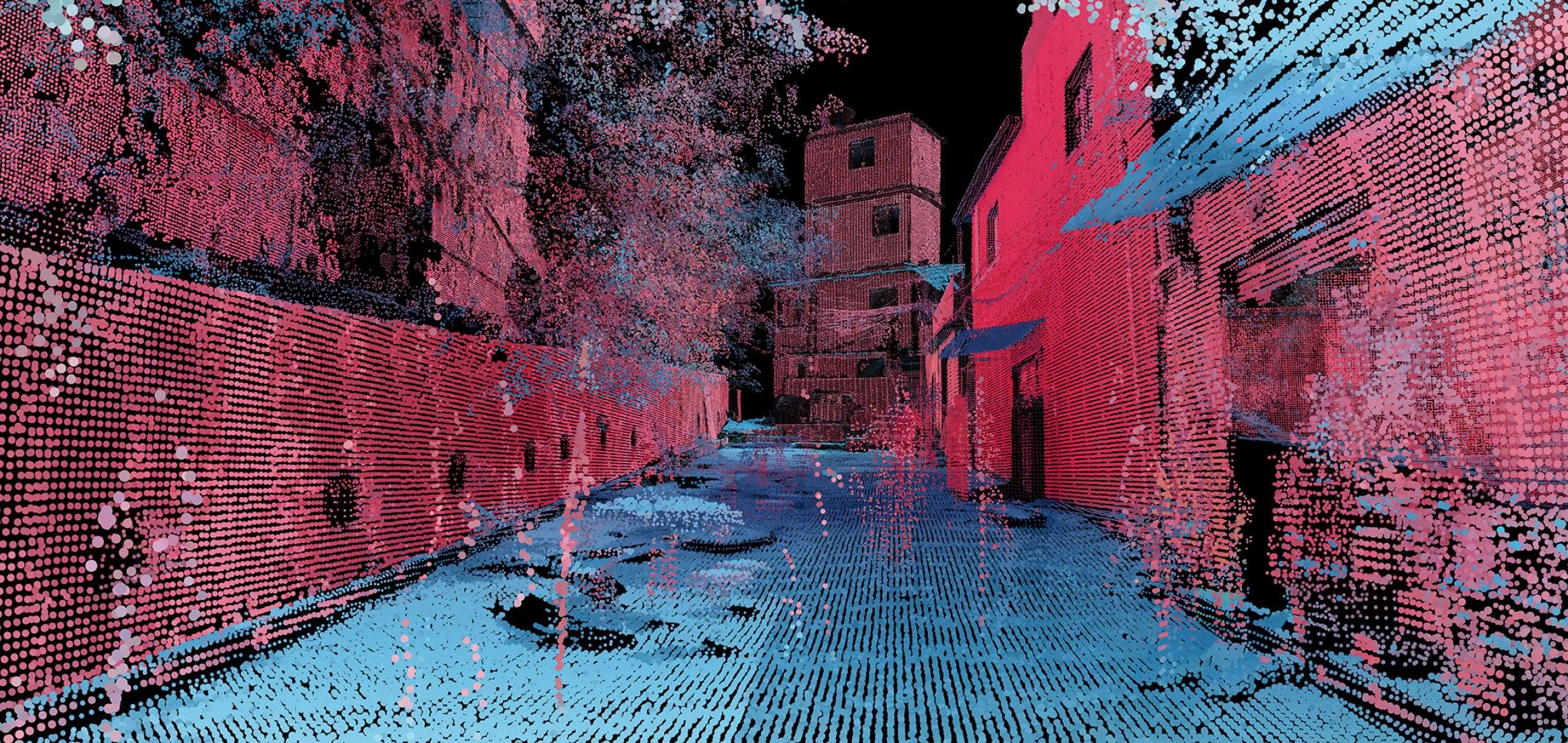 Favelas 4D by MIT Senseable City Lab. Photograph courtesy of MIT Senseable City Lab