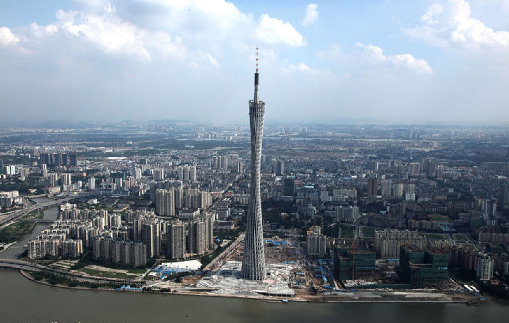 © Canton Tower / 广州塔. Information Based Architecture.