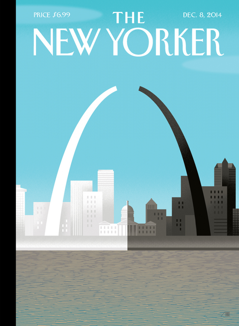 The New Yorker cover for the 8 Dec. 2014.