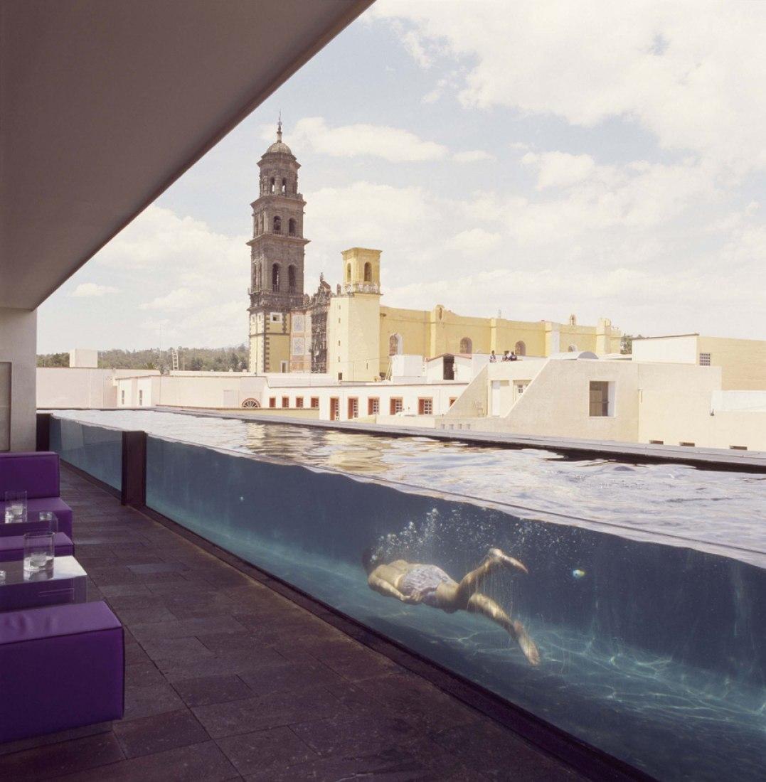 """Hotel La Purificación. Master Plan """"Paseo San Francisco"""", city of Puebla. Mexico."""