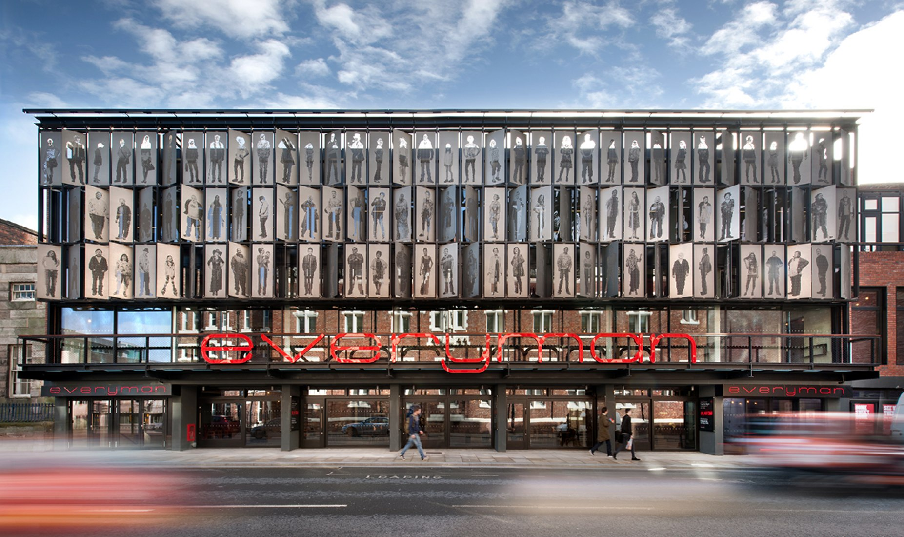 Teatro Everyman por Haworth Tompkins Architects. Fotografía © Philip Vile.