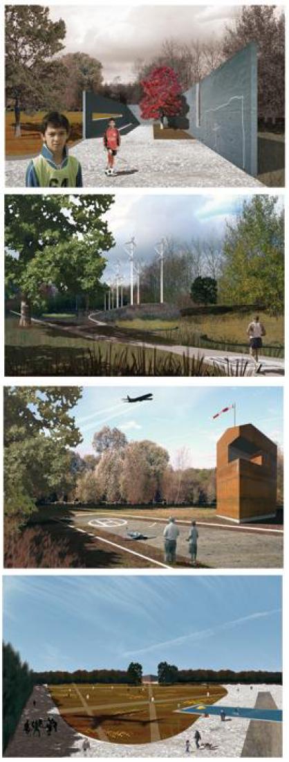 Imagenes generales. Parque de Valdebebas por Demo Architects. Madrid, España.2009.