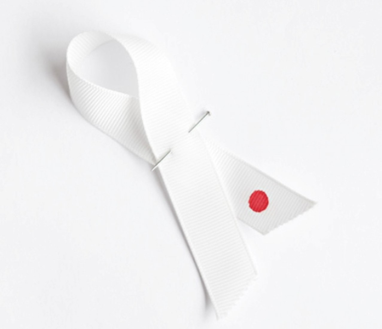 "John Pawson's ""Ribbon for Japan."""