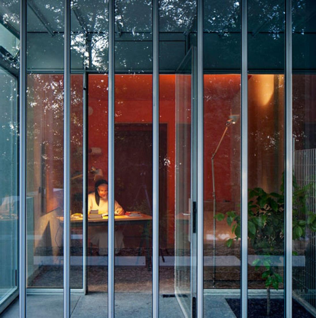 Fotografía © Michel Denancé. Inauguración por Renzo Piano de la controvertida ampliación de Ronchamp.
