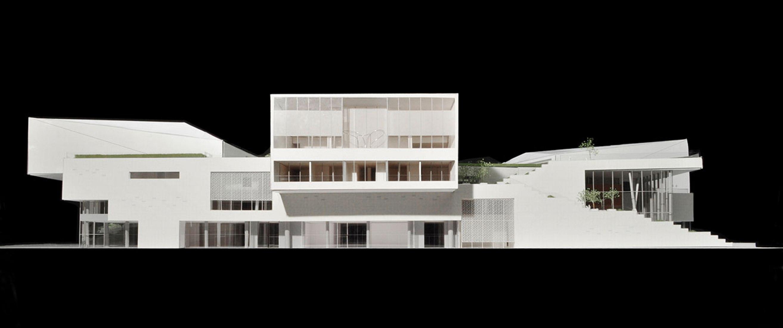Maqueta del Museo Shekou © China Merchants Property Development & Maki and Associates.