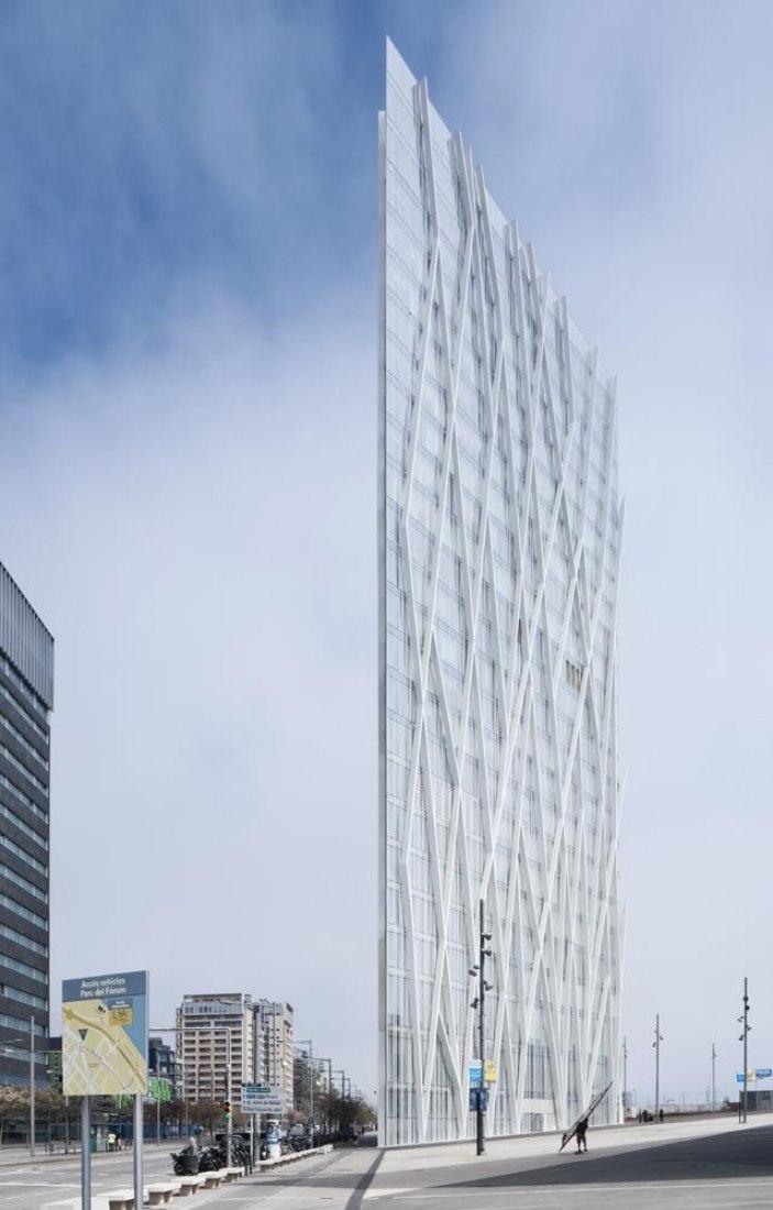 Torre Telefónica Diagonal Zero Zero. Fotografía EMBA. ©