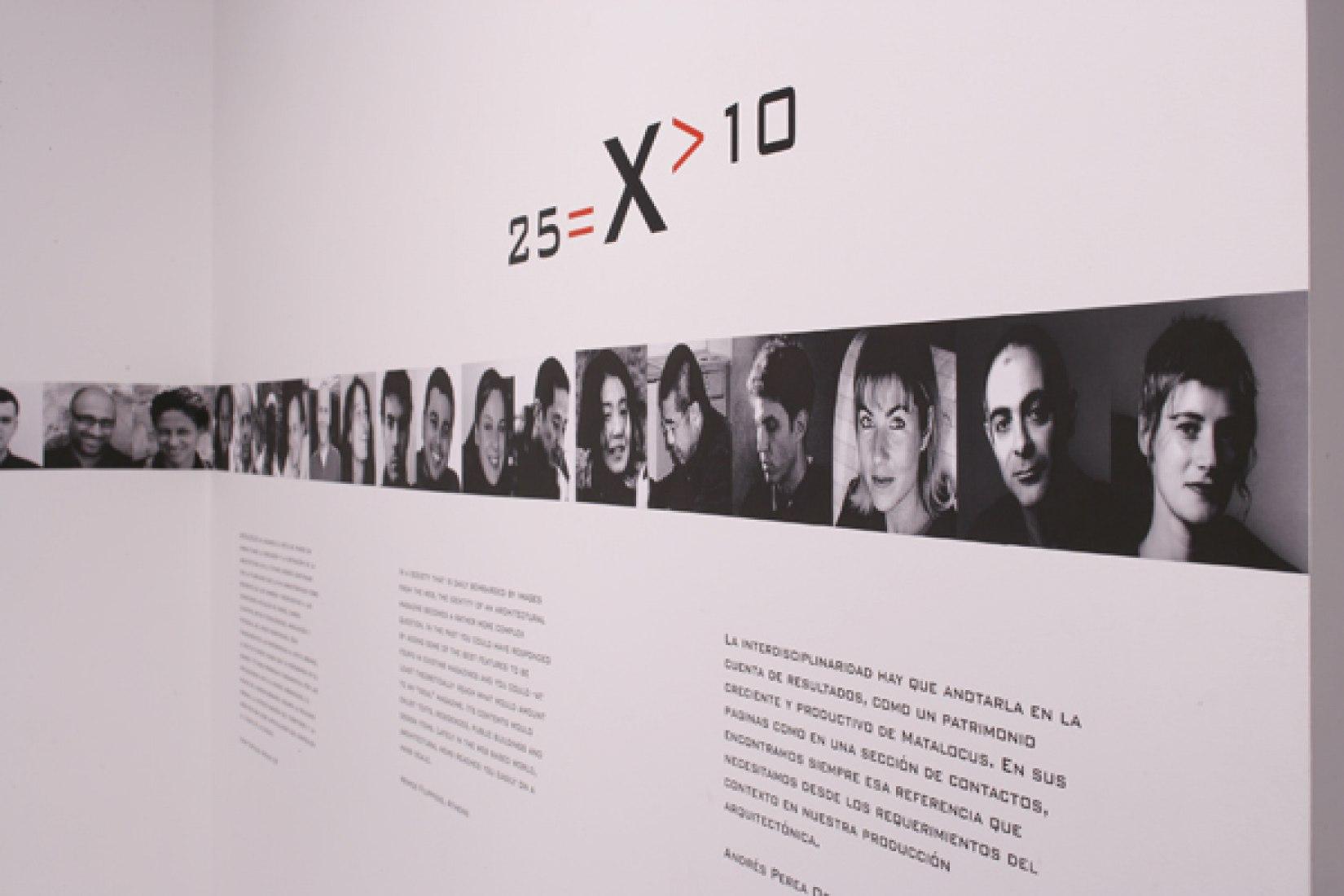 26=X>10+1 METALOCUS. 10 Años 25 números