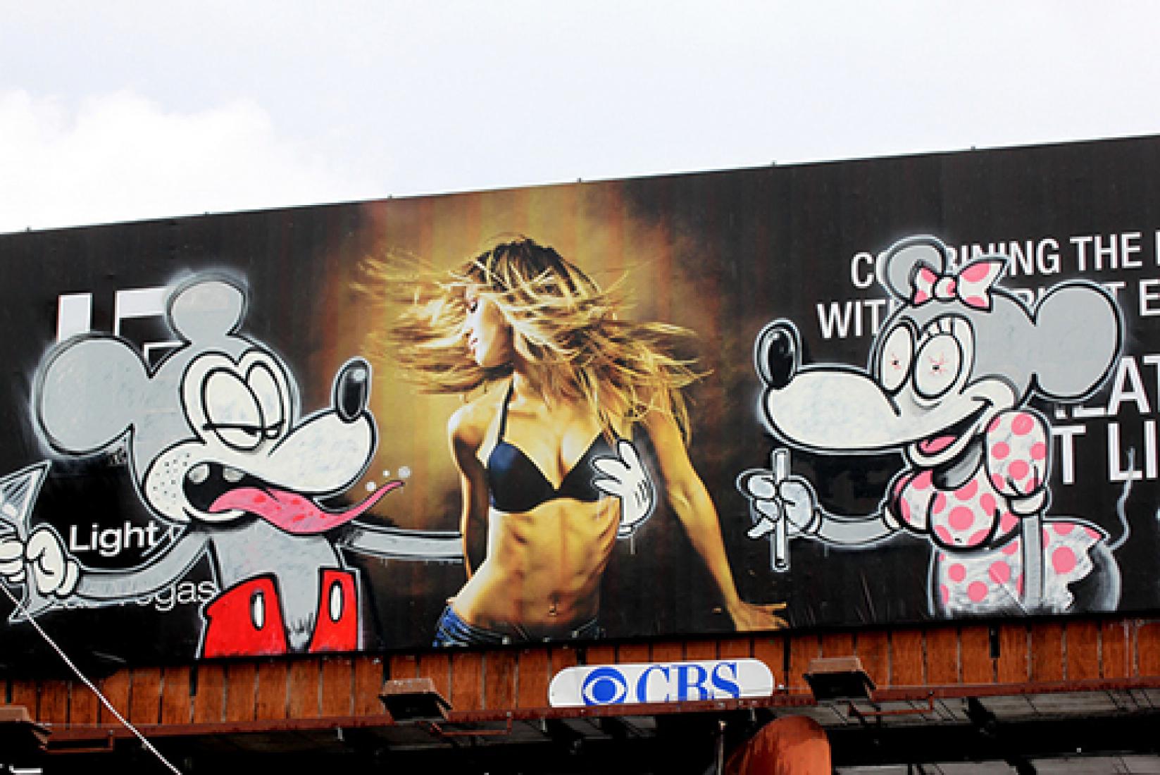 Banksy en LA.