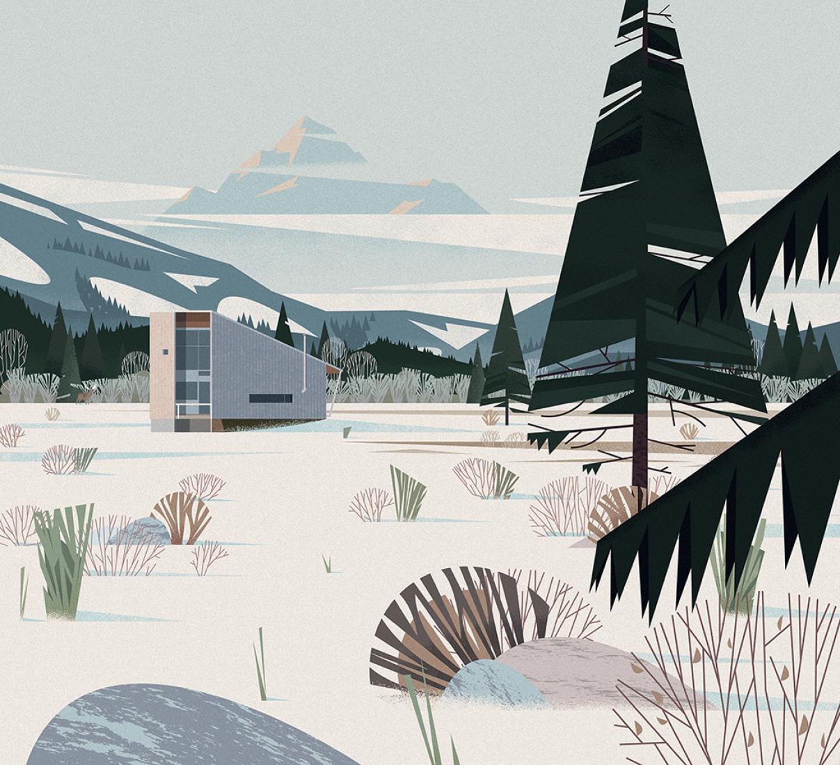 Eggleston Farkas, Methow Cabin. Image © cruschiform / TASCHEN.