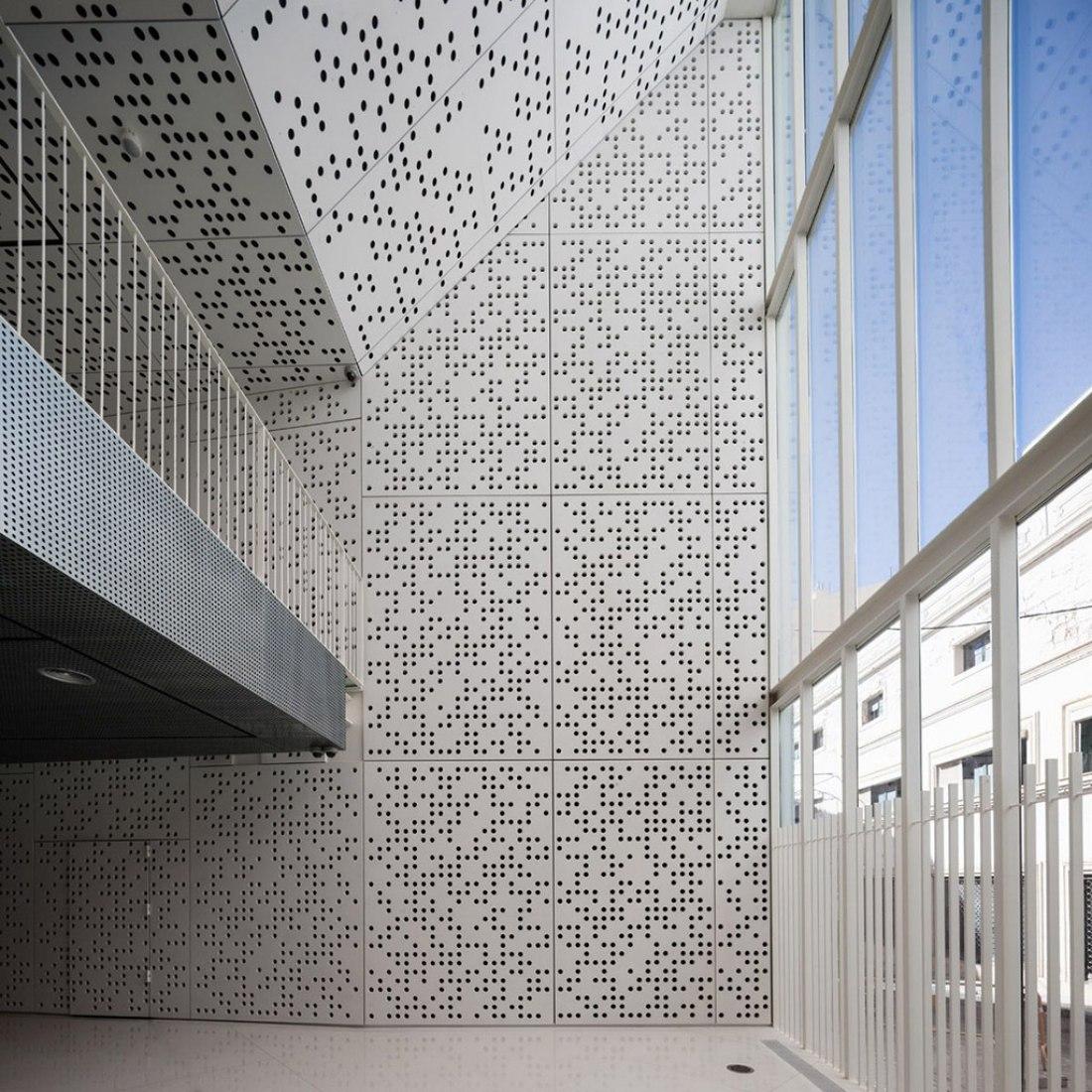 Museo de Bellas Artes (MUBA) por Estudio Arquitectura Hago. Fotografía © Fernando Alda.