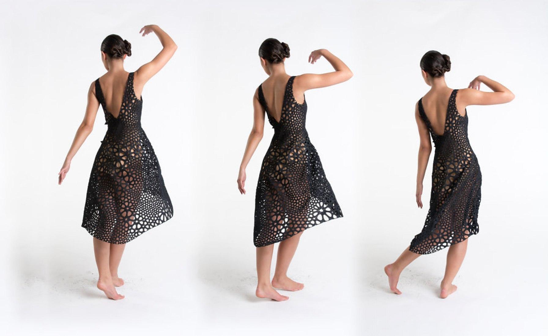 Kinematics Dress #1. Proyecto por Nervous System.