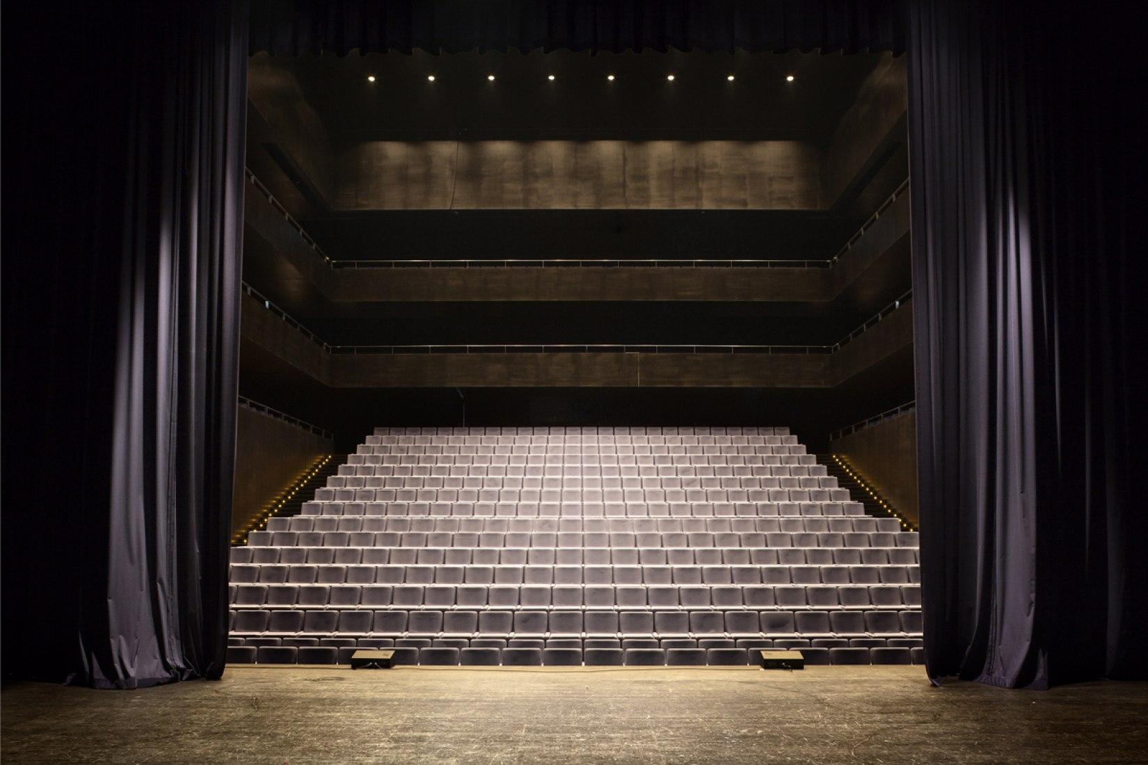 Auditorio de la Música Águilas, España. Barozzi veiga Arquitectos. Año 2012. Fotografía © Mariela Apollonio.
