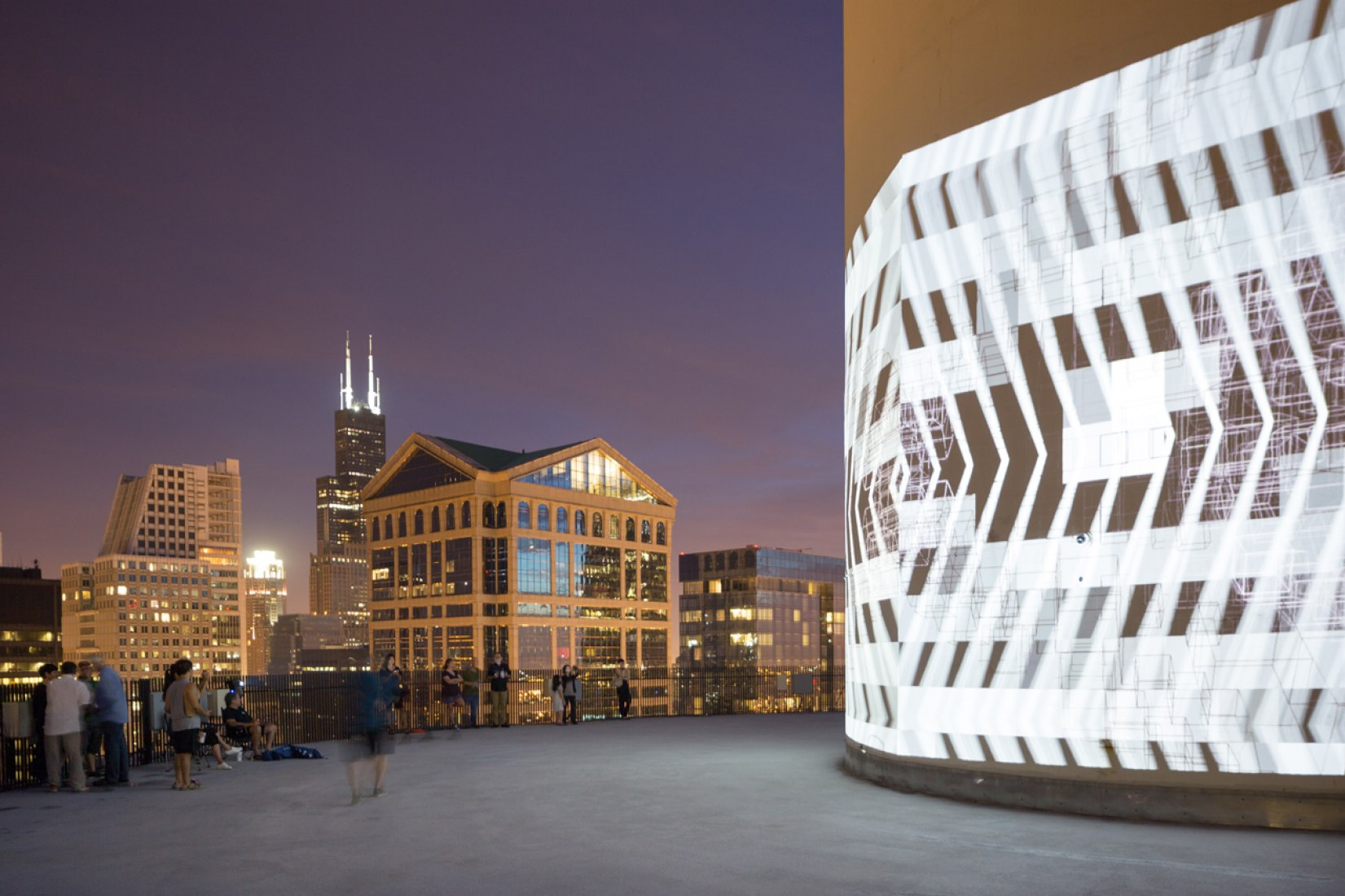 MAS Context x Luftwerk x Marina City (Chicago, Illinois), 2014. Fotografía © David Schalliol. Cortesía de MAS Context