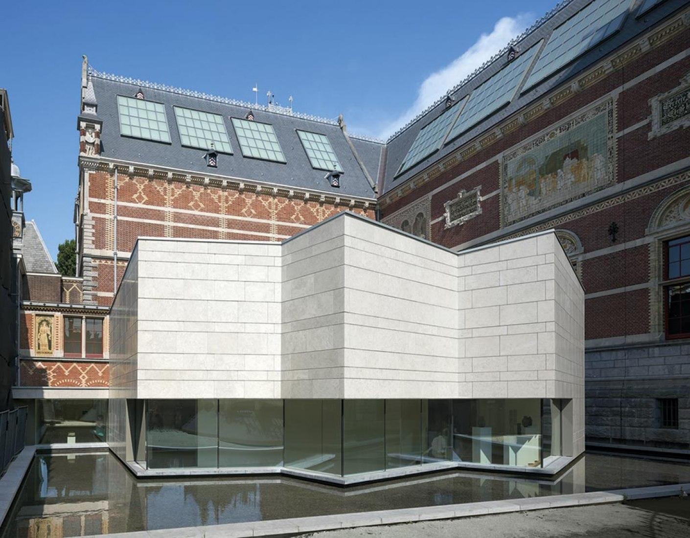 Pabellón asiatico, Rijksmuseum de Ámsterdam por Cruz y Ortiz Arquitectos. Fotografía © Duccio Malagamba.