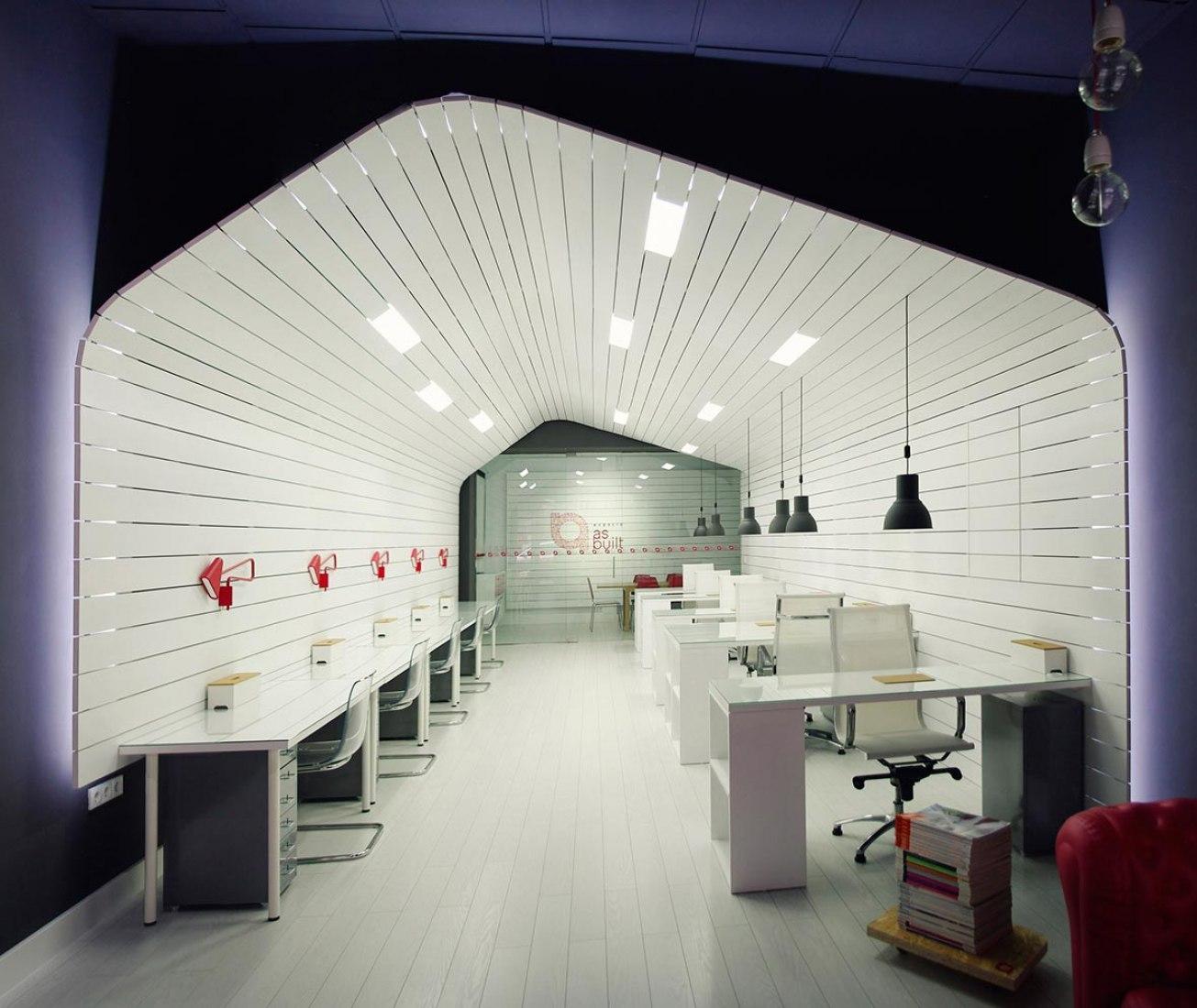 Reforma de local para despacho de Arquitectura / Coworking by as-built. Fotografía © Moncho Rey.