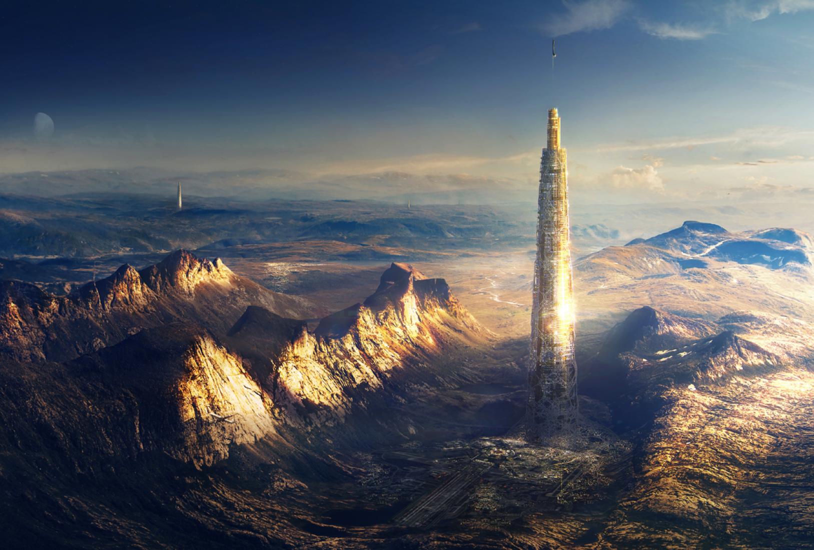 Launchspire Skyscraper, 2014. Photography © Henry Smith, Adam Woodward, Paul Attkins.
