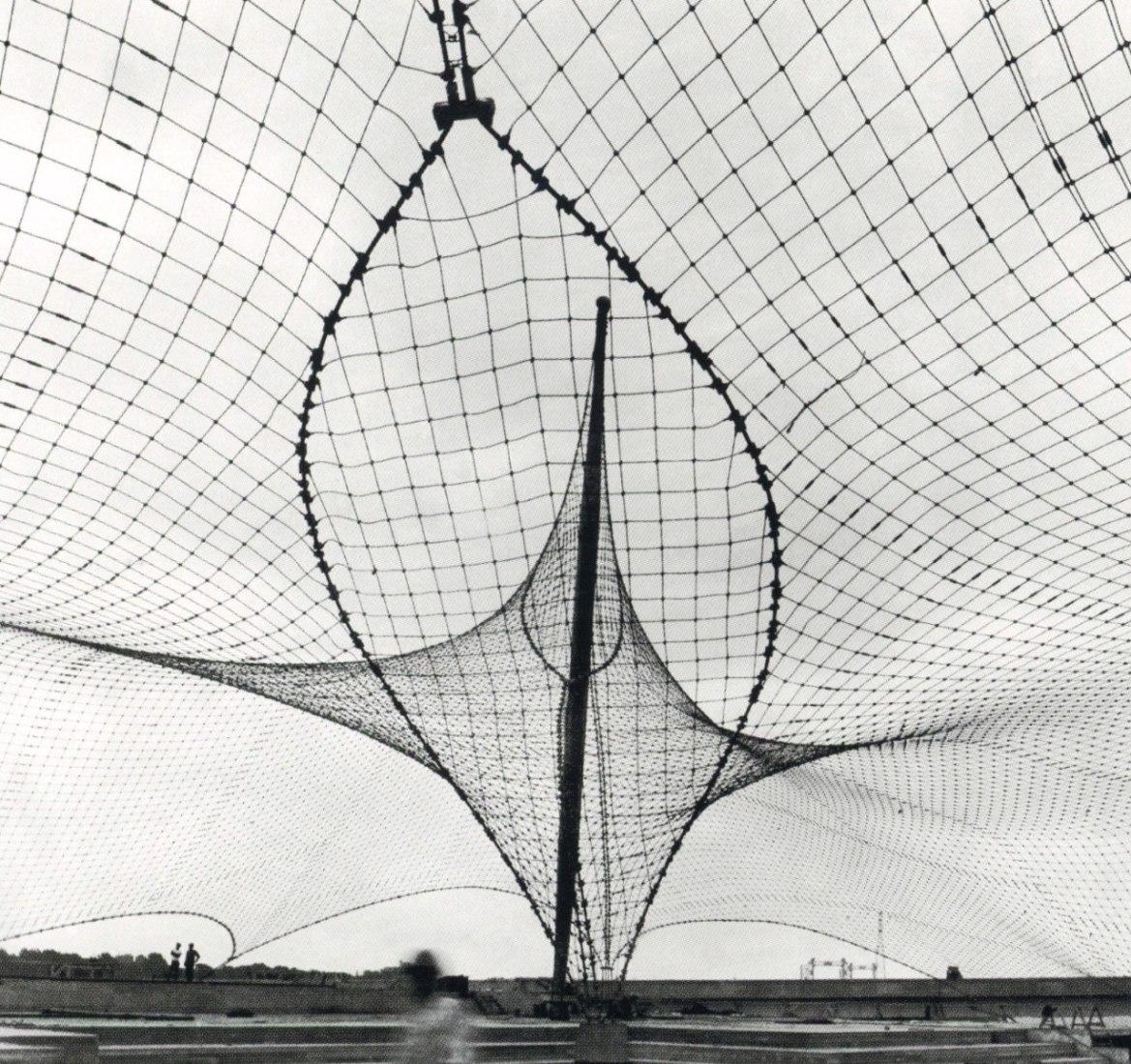 """Frei Otto y Rolf Gutbrod, Pabellón aleman """"Expo '67"""" en Montreal, (1965-1967)."""
