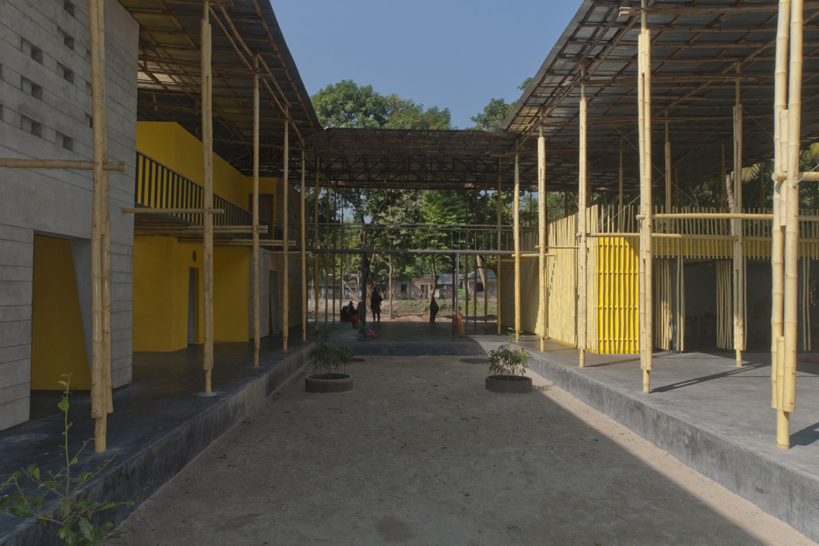 Pani Community Center in Bangladesh, by SchilderScholte architecten.