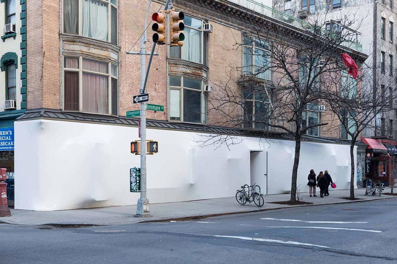 Blueprint. Storefront for Art and Architecture. Comisariado por Sebastiaan Bremer y Florian Idenburg & Jing Liu of SO-IL. Fotografía © Iwan Baan / Storefront.