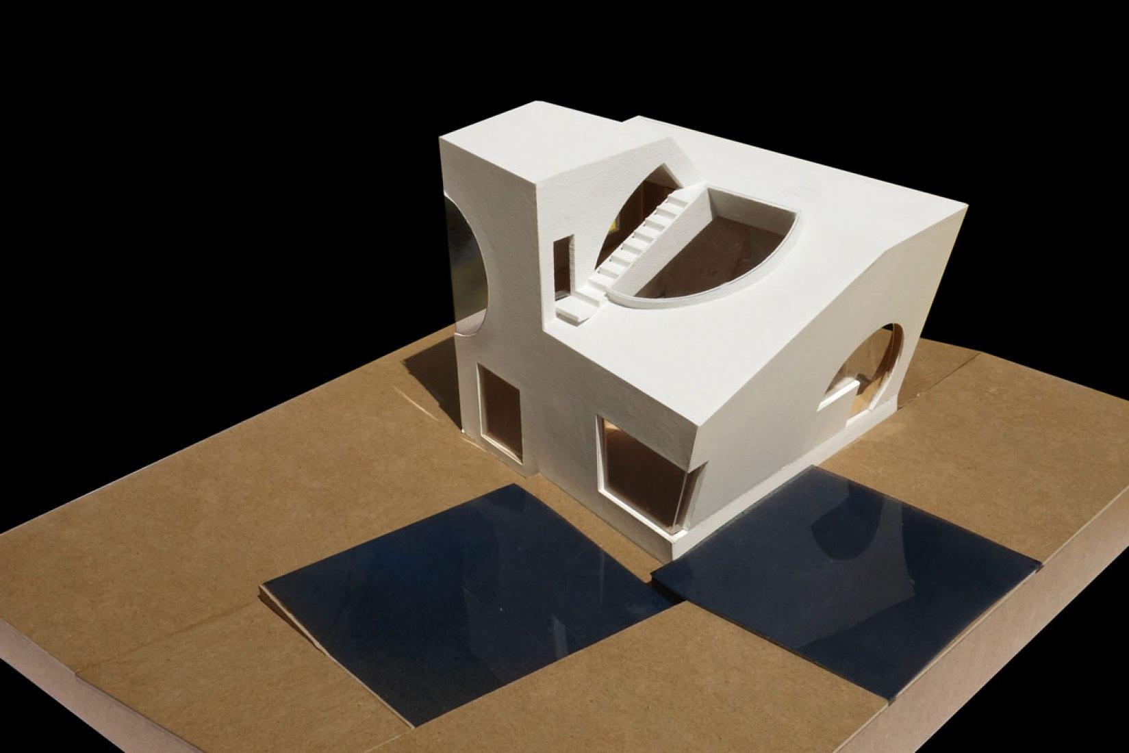 Maqueta. Casa Ex of In por Steven Holl Architects. Imagen cortesía de Steven Holl Architects.