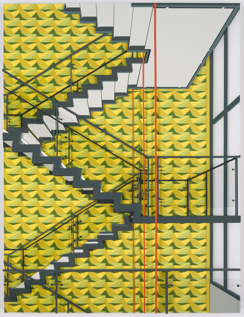 Ayuntamiento, 2011. Por Lucy Williams. Tamaño.- 20 1/2 x 15 3/4 in. / 52 x 40 cm, Técnica mixta..