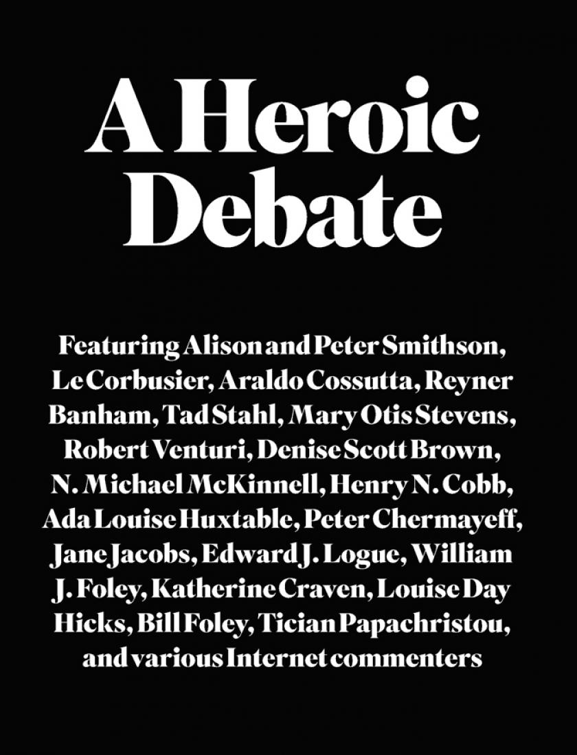 A Heroic Debate. © MAS Context.