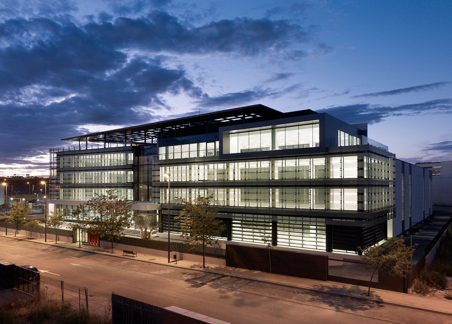 Bitácora Building, CPS Group Headquarters, Leganes. Touza Arquitectos. Julio Touza Rodríguez, Julio Touza Sacristán. Photography © Alfonso Quiroga.