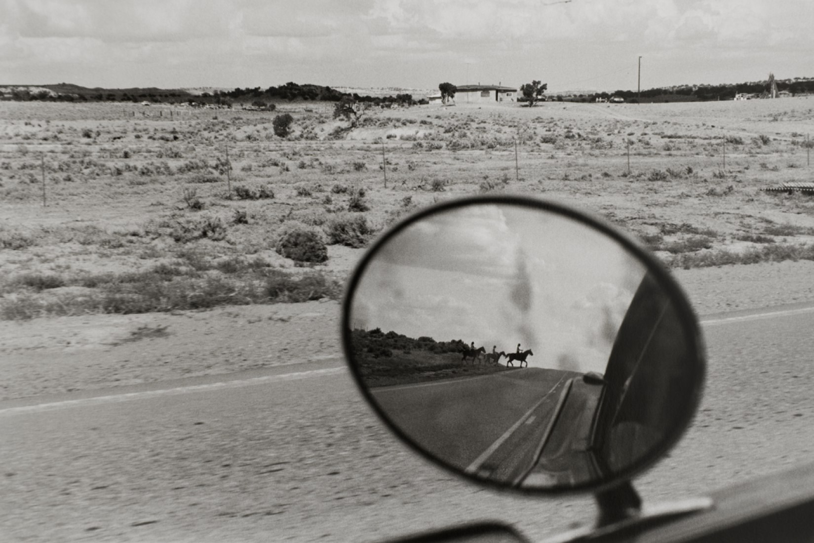 Route 666, 1978. Photographs by Bernard Plossu at La Fábrica. Photograph @ Bernard Plossu. Courtesy of La Fábrica.