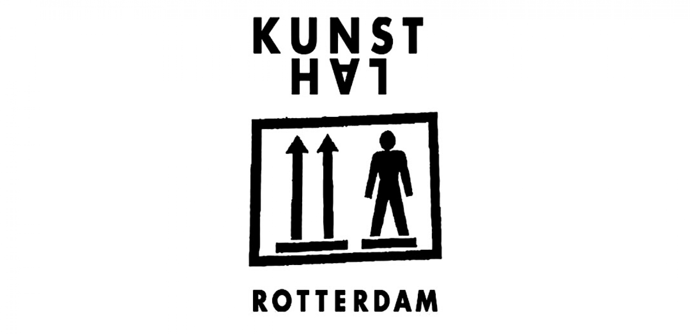 Logo. Kunsthal en Róterdam.