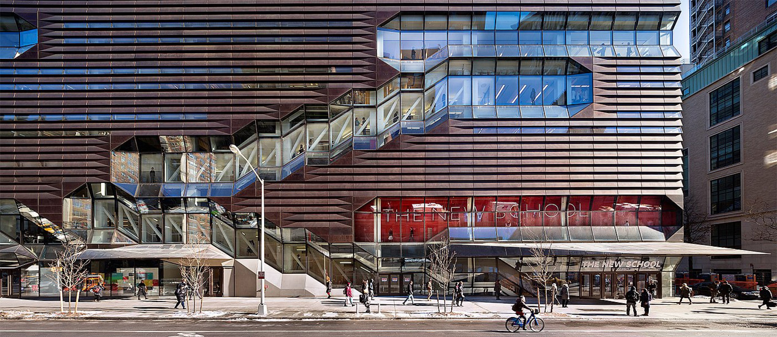 University Center. The New School. By SOM Architects. Photography © James Ewing