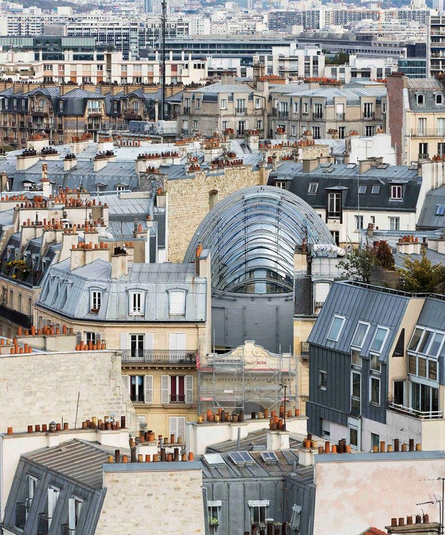 Vista general. Fundación Jérôme Seydoux-Pathé en Paris, por Renzo Piano. Fotografía © Michel Denancé. Cortesía de Renzo Piano Building Workshop.