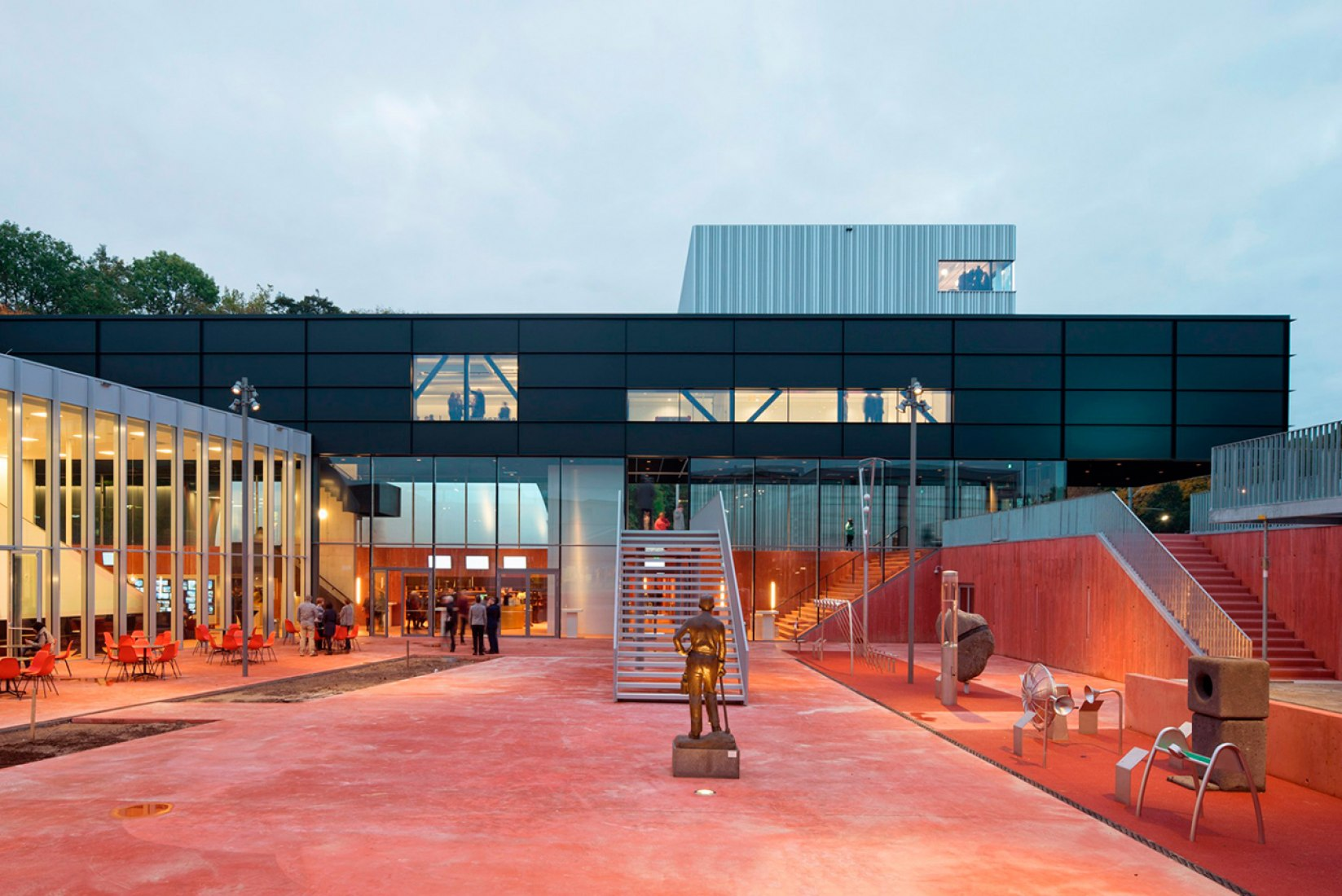 Opening museumplein limburg by shift architecture urbanism the