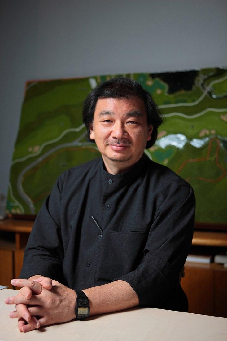 Shigeru Ban courtesy of Pritzker Architecture Prize.