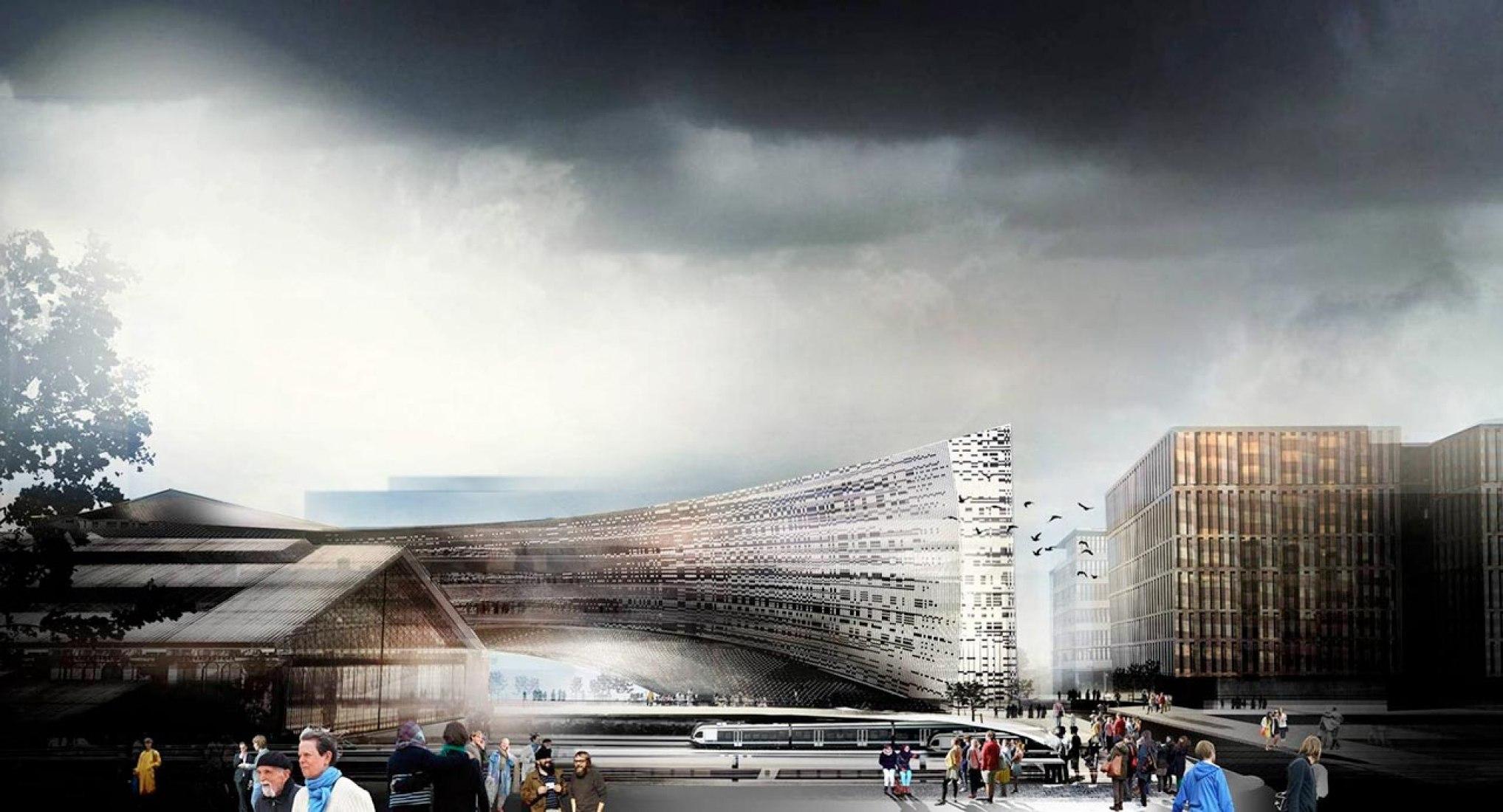 New Le Monde Headquarters by Snøhetta