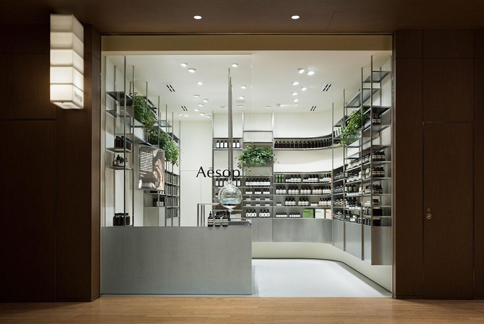Aesop Midtown by Torafu Architects. Photograph © Takumi Ota.