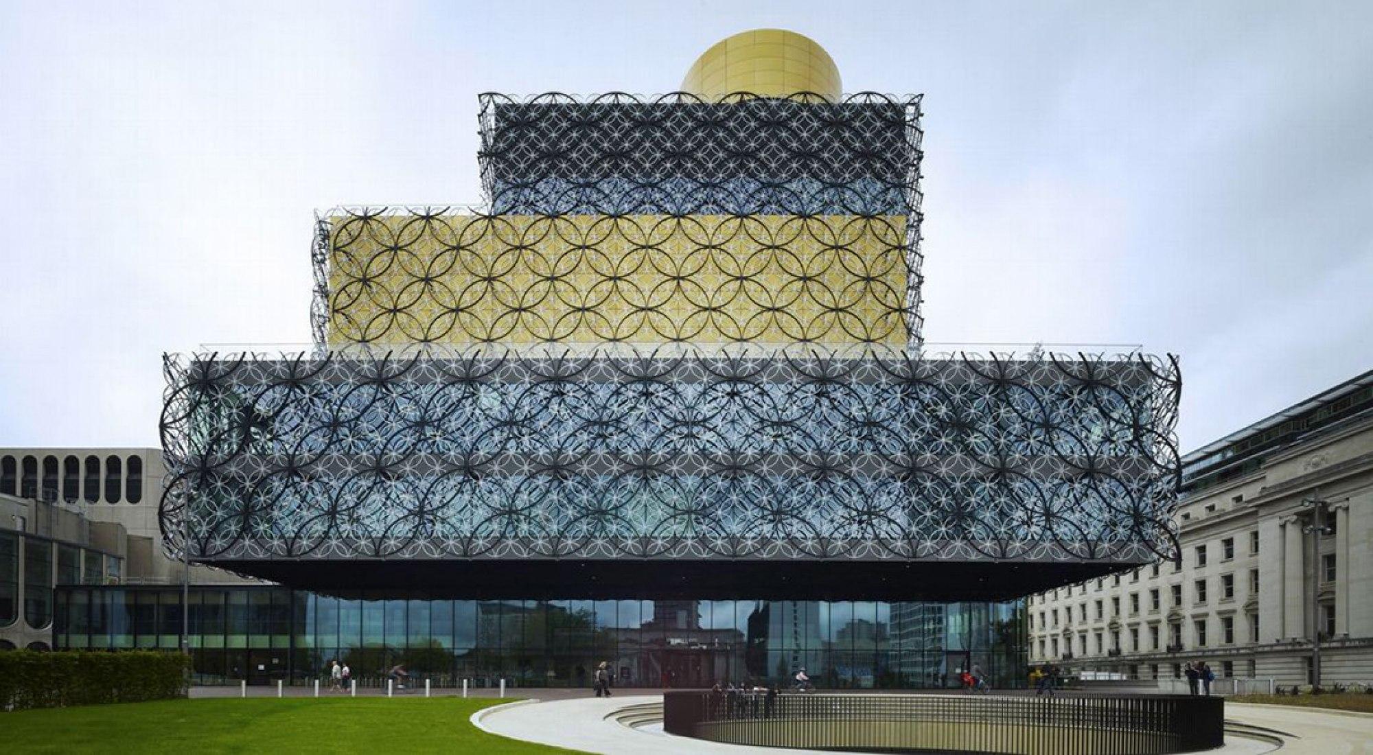 Biblioteca de Birmingham, Reino Unido.