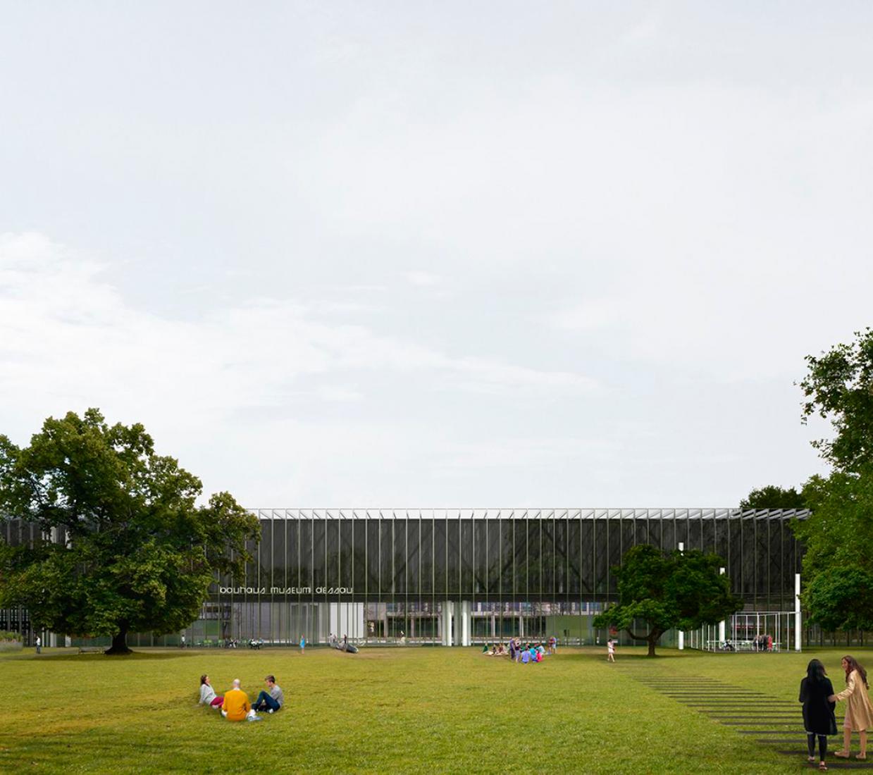 Bauhaus Museum Dessau competition. First prize, ex-aequo. Project by González Hinz Zabala. Courtesy of Bauhaus Museum Dessau.