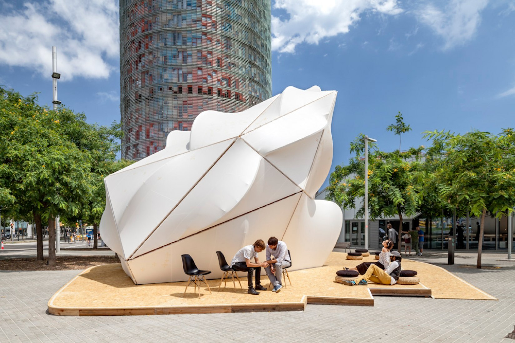 Endesa World Fab Condenser by Margen-Lab. Photography © Adria Goula