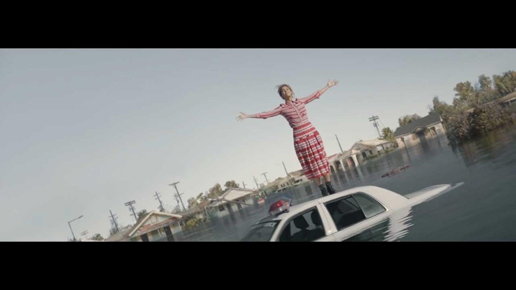 """Beyoncé, en una escena de su vídeo """"Formation"""""""
