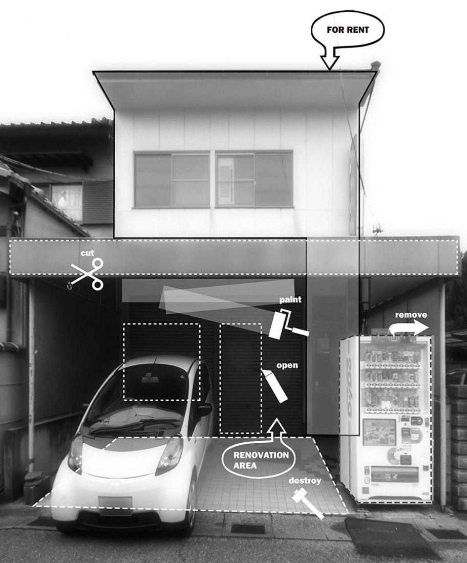 Café KBT by Jun Murata, JAM. Photography © Jun Murata / JAM.