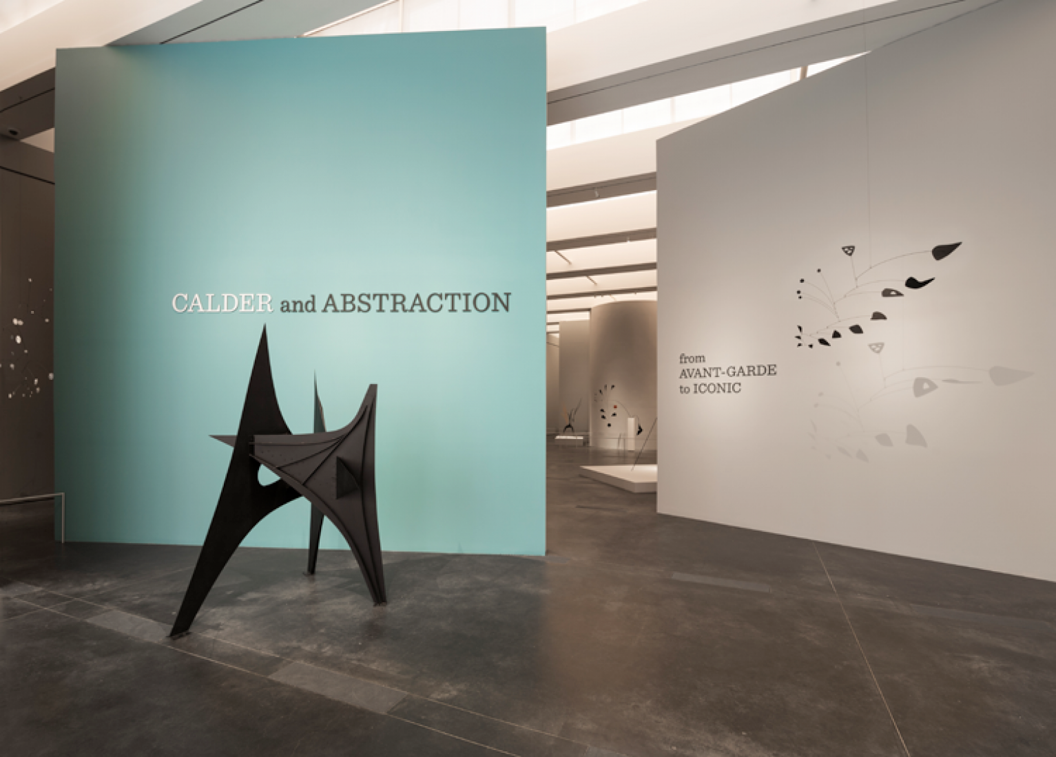Calder and Abstraction: From Avant-Garde to Iconic, Los Angeles County Museum of Art, November 24, 2013-July 27, 2014, © Calder Foundation, New York, Artists Rights Society (ARS), NY. Photography © Fredrik Nilsen