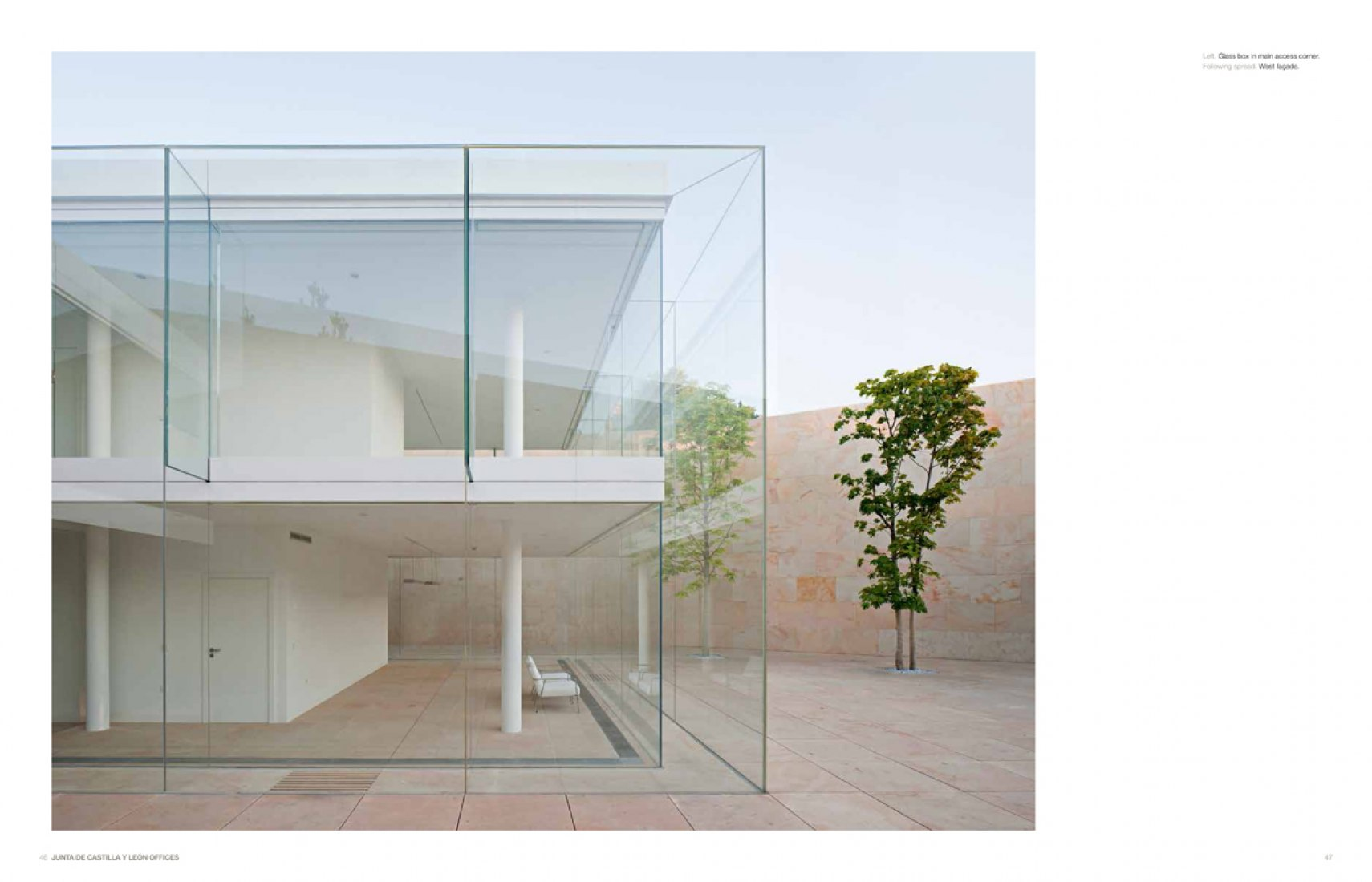 Pages of the book. 'Campo Baeza, complete works' by Thames & Hudson Publishers. Image courtesy of Estudio Arquitectura Campo Baeza.