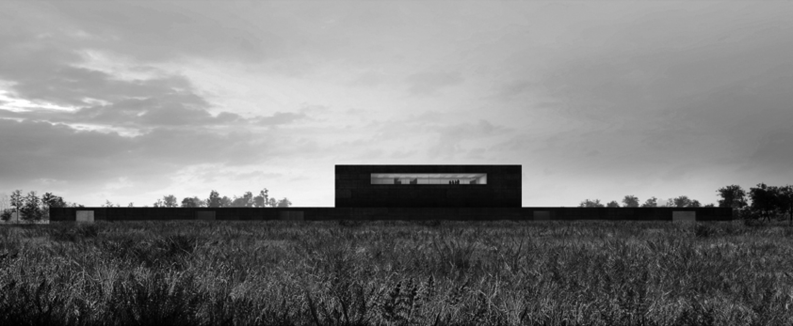 External image of the competition for the Reserves of the Louvre Museum in Liènvin by Campo Baeza y Gabrion. Courtesy of Estudio Campo Baeza.